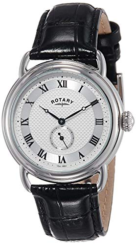 Rotary Men's GS02424/21 Analog Display Quartz Black Watch from Rotary