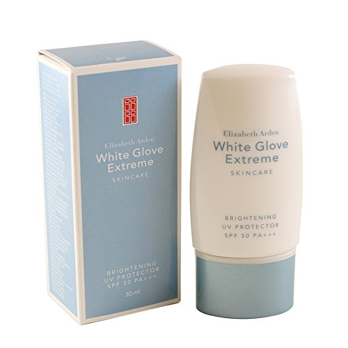 Elizabeth Arden Glove (Elizabeth Arden SPF 50 PA+++ 30 White Glove Extreme Brightening UV Protector for Women, 1 Fluid Ounce)