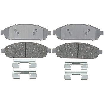 Disc Brake Pad Set-QuickStop Disc Brake Pad Rear Wagner ZD1087