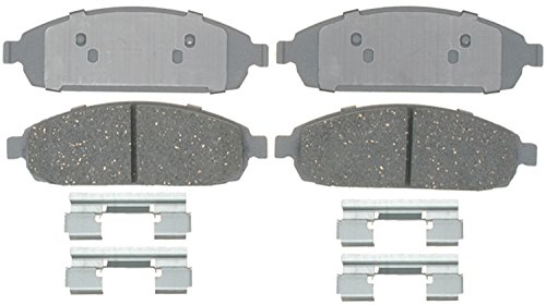 ACDelco 14D1080CH Advantage Ceramic Front Disc Brake Pad Set with Hardware