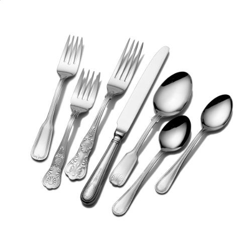 Towle T7490090 Hotel 90-Piece 18/10 Stainless Steel Flatware