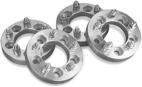 4 Wheel Spacers Adapters For Dodge 5 Lug 5X5.5 25 mm Thick With 9//16 Studs Fits: Dodge Dakota Durango Ram 1500-1 Inch 5X139.7 mm
