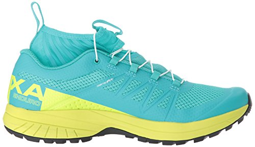 Salomon Womens Xa Enduro W Trail Runner In Ceramica / Lime Punch./black