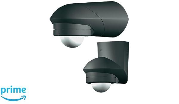 Grothe 5167044 - Detector de movimiento 360 grados 230v, montaje en superficie, ip55, mcgard por bm 360 sw, negro: Amazon.es: Bricolaje y herramientas