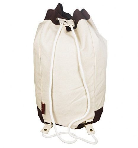 Hogwarts School Crest Canvas Drawstring Duffle Bag by Harry Potter (Image #2)