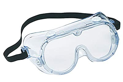 3M 91252-80024-10 Chemical Splash/Impact Goggle, 10-Pack (20 Pack)