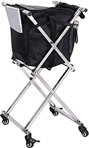 Tennis Ball Hopper Basket 1 Bag Travel Cart Pro 140 Ball Hopper