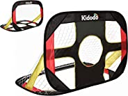 Soccer Goal for Kids Portable Folding Pop Up Kids Soccer Goal Net with Carry Bag for Outdoor and Indoor