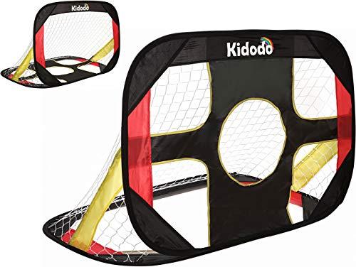 Kidodo Soccer Goals for Backyard Kids Soccer Goal for Kids Pop Up Soccer Goal for Chidren Foldable and Portable Soccer Goal Net Outdoor Garden and Indoor Toy