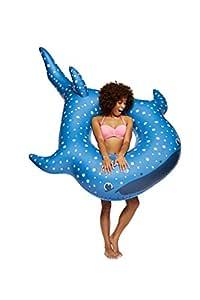BigMouth Inc Flotador Gigante para Piscina de Tiburones Ballena ...