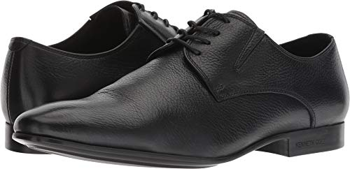 Kenneth Cole New York Men's Mix-ER Oxford, Black Tumbled Leather, 10 M US