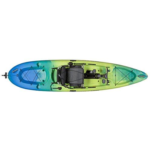 Ocean Kayak Malibu Pedal Recreational Kayak (Ahi, 12 Feet)