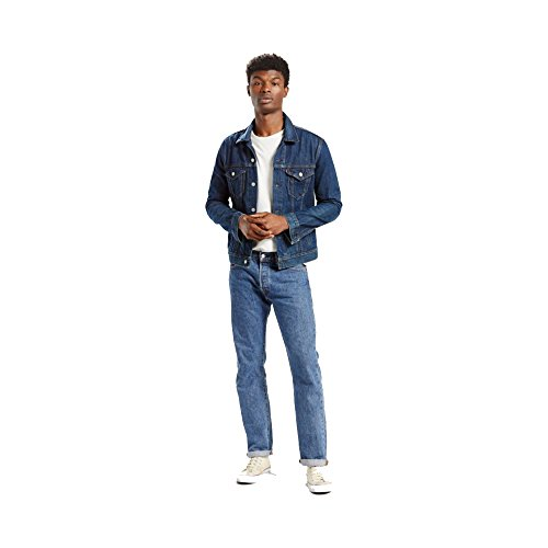 Levi's 00501 Men's 501 Original Fit Jean, Medium Stonewash - (Original Wash Jeans)