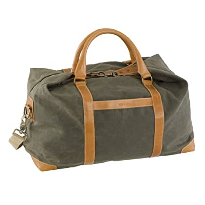 Image of BELDING American Collection Satchel Duffle Bag, Sage Duffel Bags