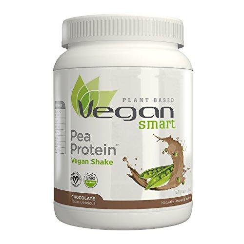 Naturade Plant Based VeganSmart Vegan Pea Protein – Chocolate – 20.6 oz