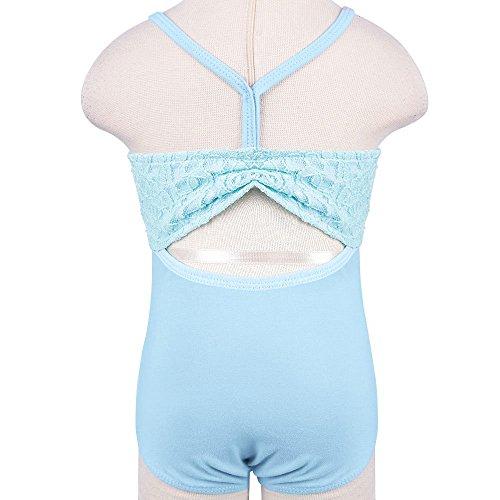 Danza Ginnastica C Blu Bambine Body Classica Tfjh Tuta 6qPwg