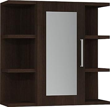 Domino Ecoco Badezimmer Spiegelschrank Schwarz Amazon De Kuche