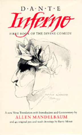 Inferno: First Book of the Divine Comedy (California Dante)