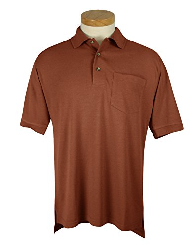 Tri Mountain Mens Big And Tall Golf Shirt With Pocket