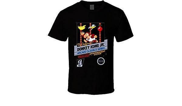 donkey kong jnr PRINTED T-SHIRT tee shirt tshirt art