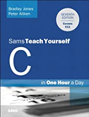 Sams Teach Yourself C Programming in One Hour a Day, Seventh Edition  is the newest version of the worldwide best-seller Sams Teach Yourself C in 21 Days. Fully revised for the new C11 standard and libraries, it now emphasizes platform-inde...