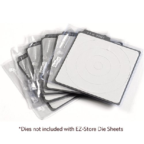 QUICKUTZ We R Memory Keepers EZ5PK-4X4 4 by 4 EZ Store Die Sheets ()