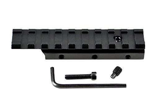 Picatinny Mount Adapter - Sniper Rail Mount Adapter, Mount Adjustor, Dovetail Base to Picatinny Base