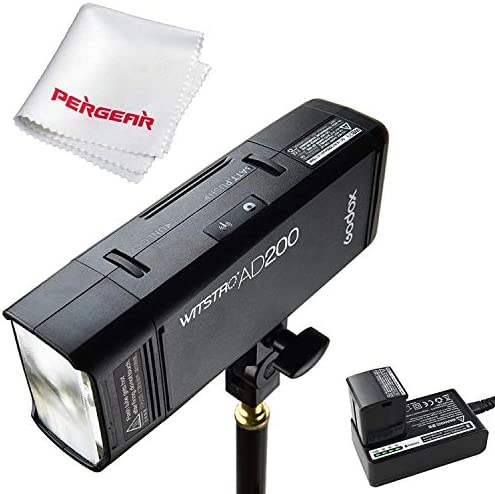 Godox AD200 200Ws 2.4G TTL Flash Strobe 1/8000 HSS Cordless Monolight