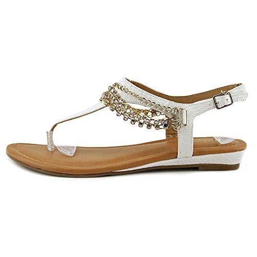 Womens Sodi Casual Sandals Slingback White Zella Toe Thalia Split URS5A7x7n