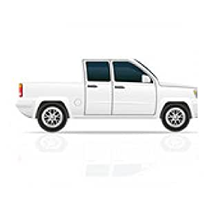 alfombrilla de ratón Ilustración del vector del coche pick-up - rectangular - 23cm x 19 cm