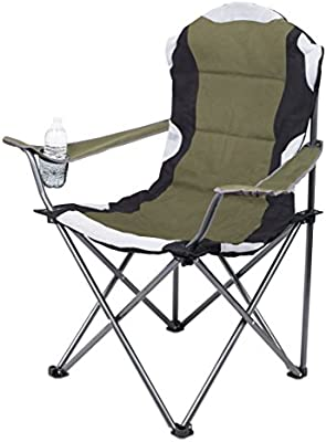 Pleasant Internets Best Padded Camping Folding Chair Outdoor Sports Cup Holder Comfortable Carry Bag Beach Quad Pdpeps Interior Chair Design Pdpepsorg