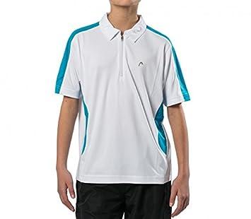 Head - Club Zip Junior Tenis Polo weiÃ?Weber Å/Color Azul Claro ...