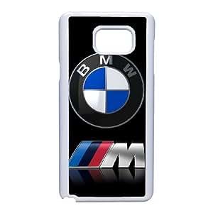 Bmw 3 funda Samsung Galaxy Note 5 celular de la caja del teléfono funda Q9N4JGRSKK blanco