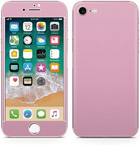igsticker iPhone SE 2020 iPhone8 iPhone7 専用 スキンシール 全面スキンシール フル 背面 側面 正面 液晶 ステッカー 保護シール 008998 その他 シンプル 無地 ピンク
