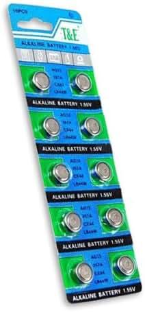 SE BT-AG7 AG7 Alkaline Button Cell Batteries(10 Piece)