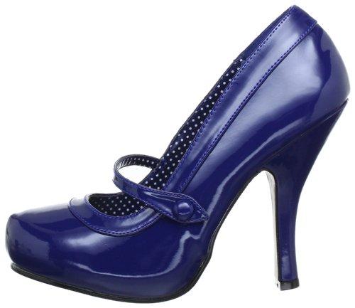 Sintético cutiepie Pat Eu navy Azul Blue Material Zapatos Pleaser Blau Tacón De Mujer 02 w065qnxOZ