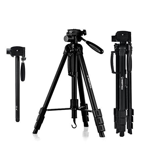 InnerTeck Tripod – 70 Inches Professional Camera Tripod Monopod with Carry Bag for SLR DSLR Canon Nikon Sony DV Video – Travel Portable Tripod