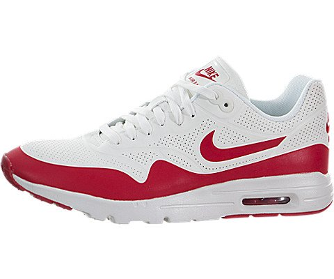 on sale 3eac7 b79d9 Galleon - Nike Womens Air Max 1 Ultra Moire Summit White Unvrsty Red White  Running Shoe 9 Women US