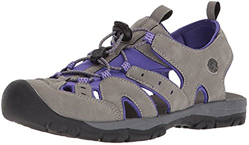 Summer Wet a Purple Waterproof Dry Northside Burke Sandal; with Women's Athletic Bag Gray II w6IUpqz