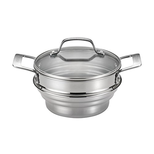 Pemberly Row Stainless Steel Steamer