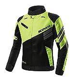 SCOYCO Motorcycle Jacket Motor-racing Shockproof Breathable Reinforced Clothing Motocross Gear Off-Road Motorcycle Jacket