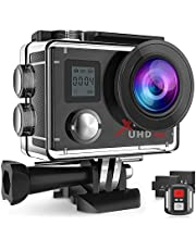 Campark 4K Action Camera Waterproof 16MP Impermeabile Sport Cameras