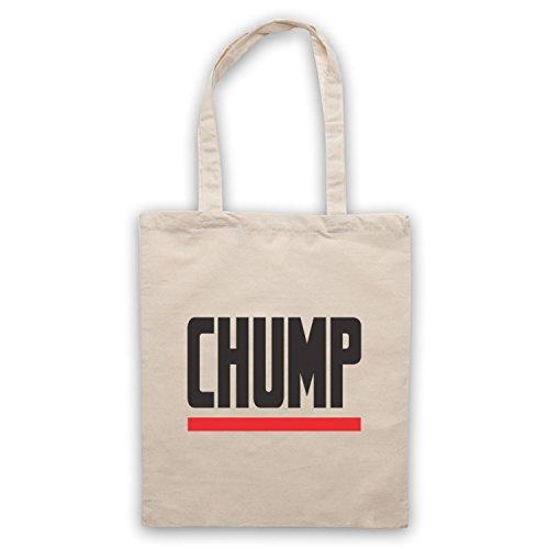 Chump Funny Slogan Bolso Natural