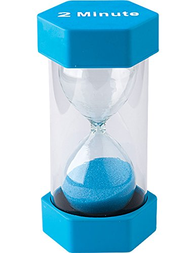 (Teacher Created Resources 2 Minute Sand Timer - Large (20658))