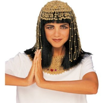 Cleopatra Beaded Headpiece Costume Accessory - Wig Not Included