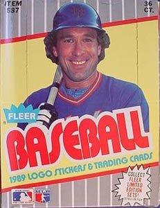 1989 Fleer Baseball Card Hobby Box