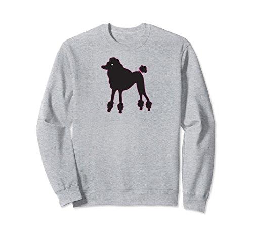 Unisex Poodle Skirt 1950's Sock Hop Costume Sweatshirt Record Hop XL: Heather Grey (Poodle Skirt Sweater)