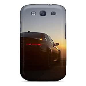 New Fashion Premium Tpu Cases Covers For Galaxy S3 - Bmw M3 Sunset Back Black Friday