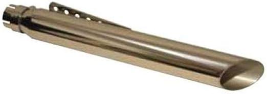 Emgo Muffler Slash Cut 80-45700