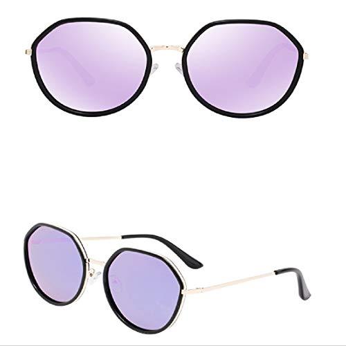 Women Sunglasses,BOLLH Fashion Cat Glasses Face Flat Lens Metal Frame Sunglasses UV 400